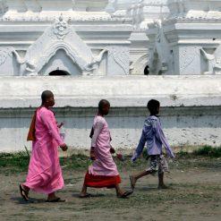 Mandalay hill et son lit de pagodes