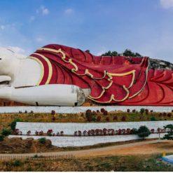 Buddha couché de Win Sein