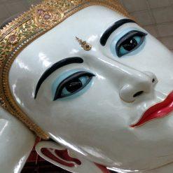 Pagode Chauk Htat Gyi - Bouddha incliné